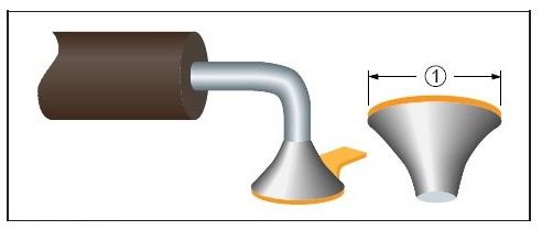 Эталон паяного соединения вывода компонента
