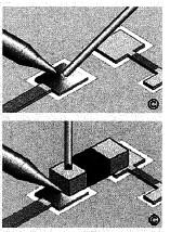 пайка чип компонентов