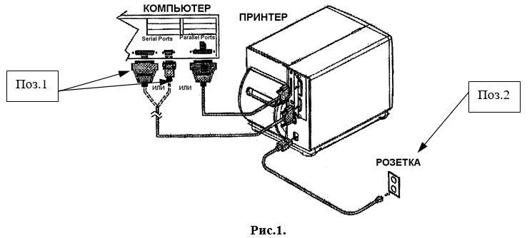 схема подключениря