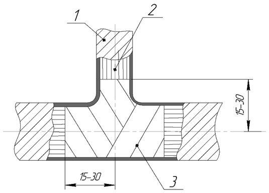 ТП обмотку лентами эск 4 фиксированное на 3